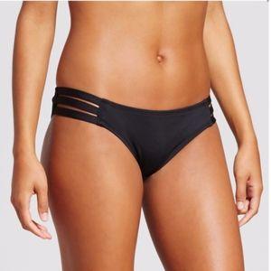 Mossimo Strappy Cheeky Bikini Bottom Black XL